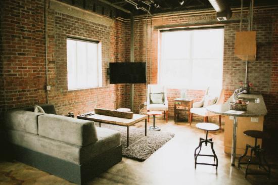 Loft Living Room - Jacksonville