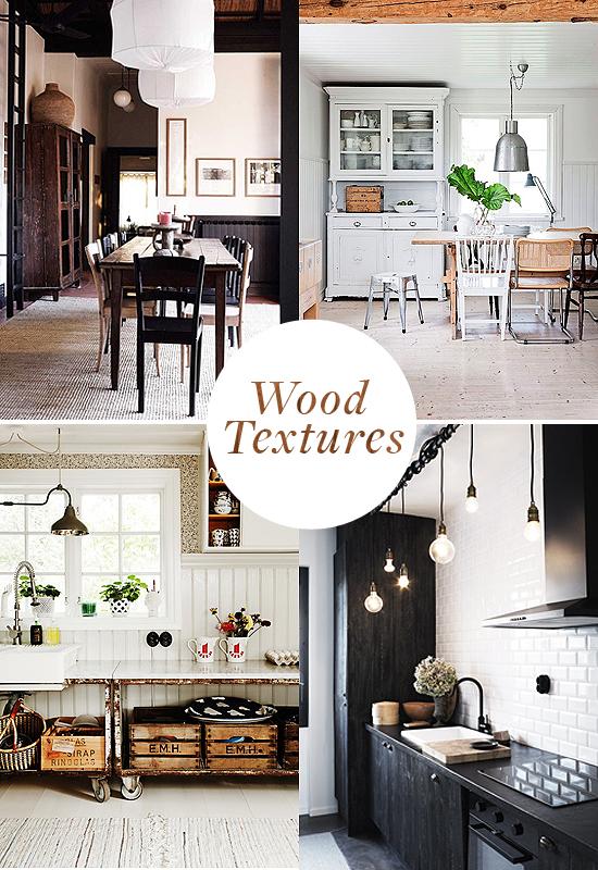 Wood Texture Interiors