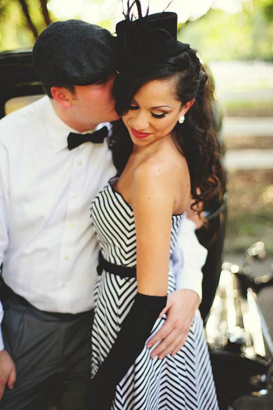Raeylz & Chris Vintage Engagement Session - Jason Mize Photography