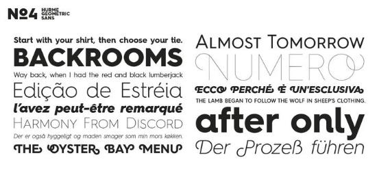 Hurme Geometric Sans No.4 - My Fonts