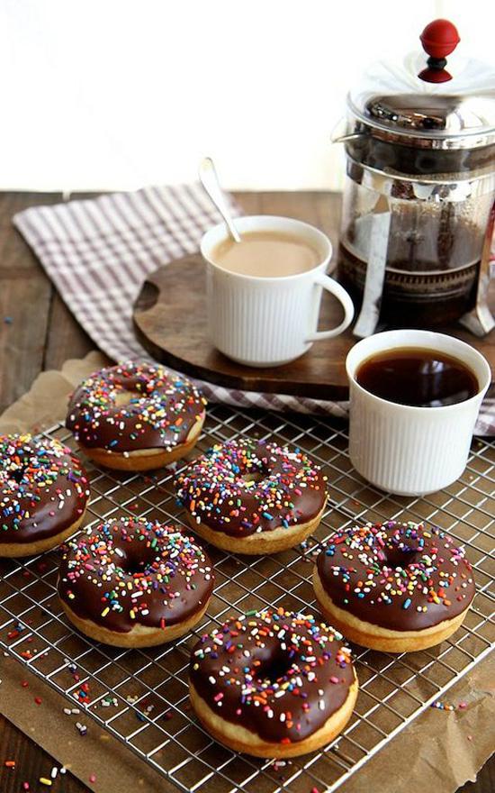 Brown Butter Baked Doughnuts - Joy the Baker