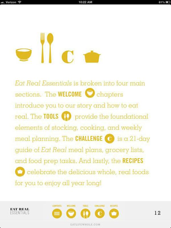 Eat Real Essentials - Design Work Life