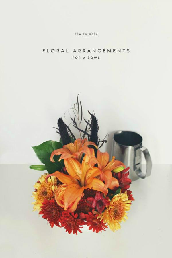 How to Make Floral Arrangements - Observant Nomad