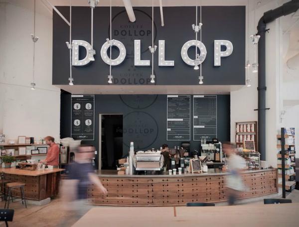 Dollop Identity - Firebelly Design