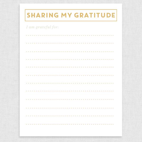 Grateful Printable