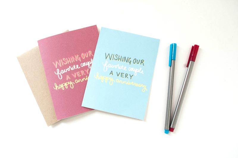 Anniversary Cards - Studio 404