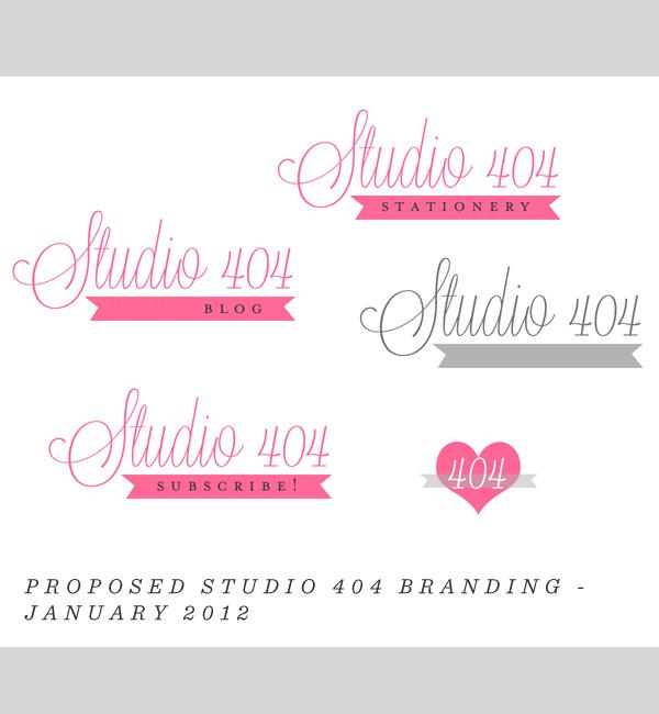 Old Studio 404 Branding