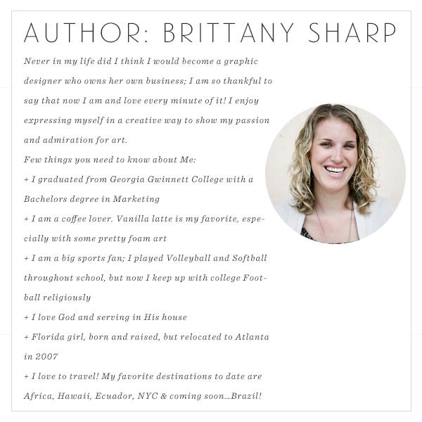 Author: Brittany Sharp