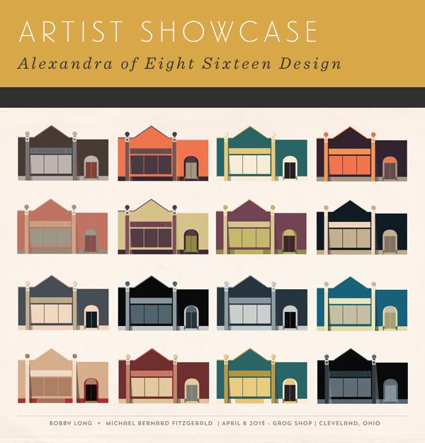 Artist Showcase - Eight Sixteen Design