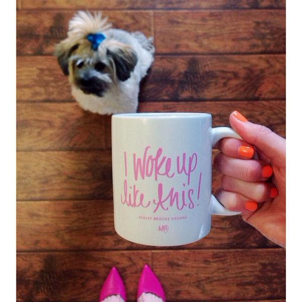 I Woke Up Like This Mug - ABD