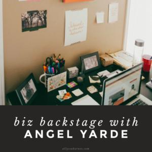 Biz Backstage - Allyssa Barnes