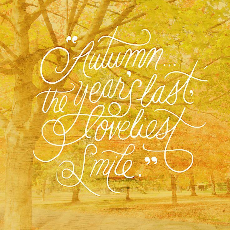 Autumn Lettering - Karli Ingersoll