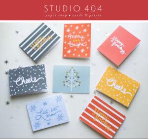Studio 404 Holiday Cards