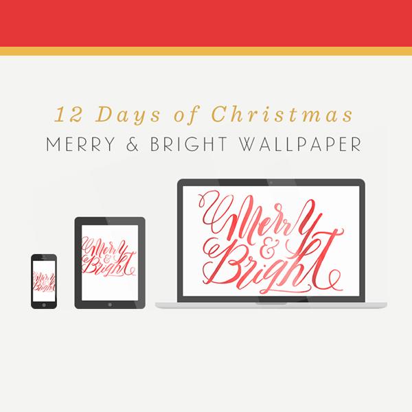 Merry & Bright Wallpaper
