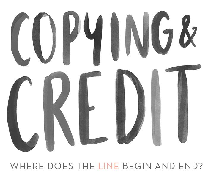 Copying & Crediting in Design - Design*Sponge