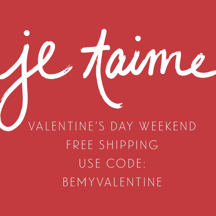 Valentine's Day Weekend - Studio 404 Shop