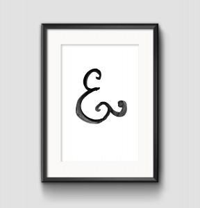 Ampersand Print - Studio 404 Paper