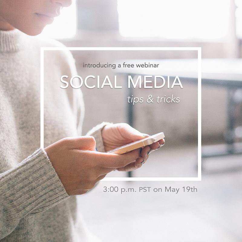 social media webinar promotion