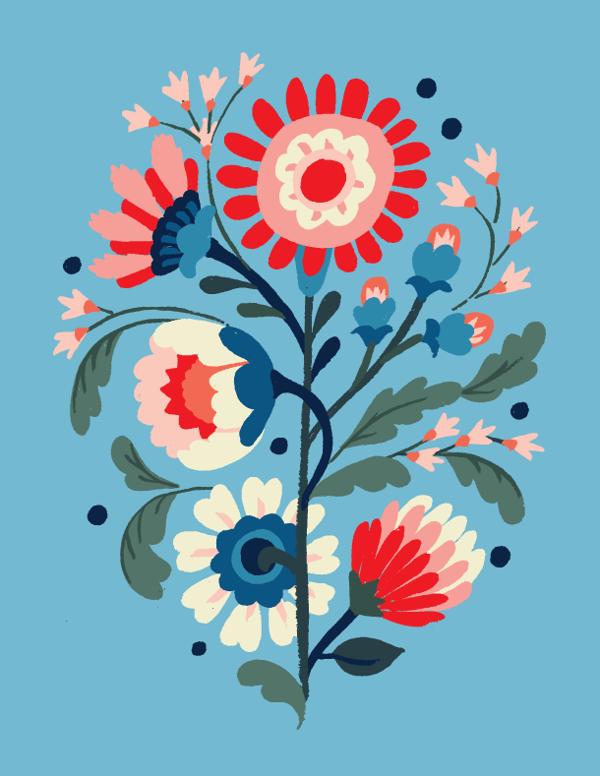 Floral Exploration - Jill De Haan