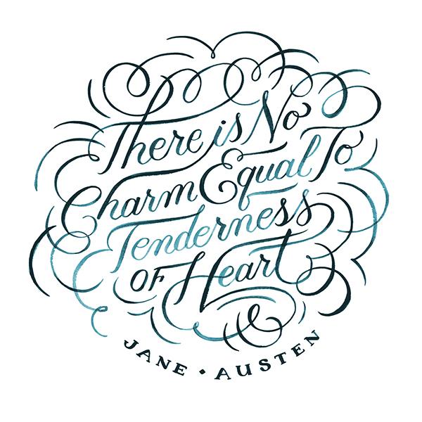 Jane Austen Quote - Jill De Haan