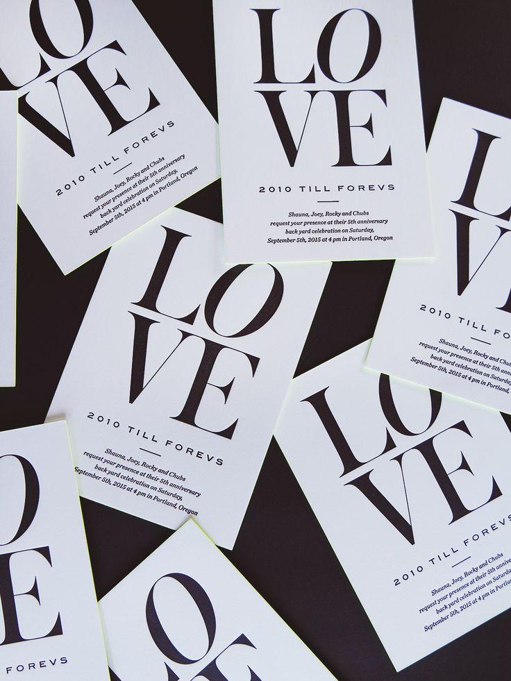 Letterpress Invites - Nubby Twiglet