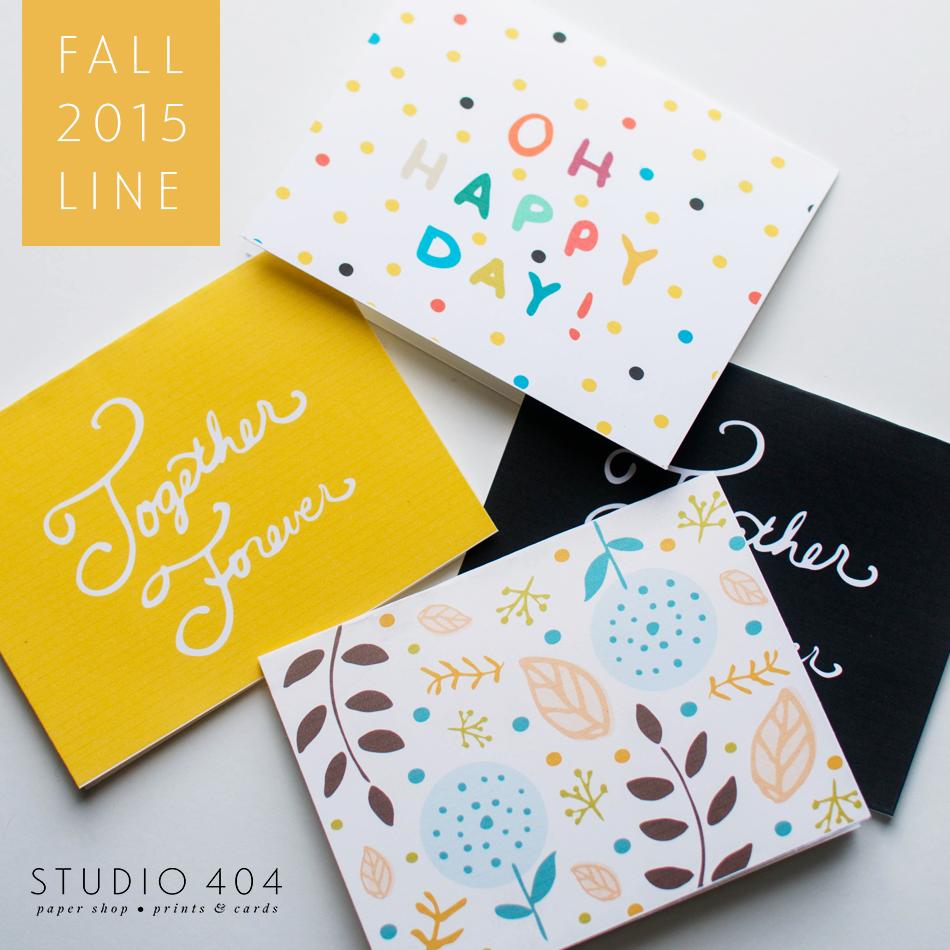 Fall 2015 Cards - Studio 404