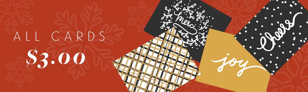Black Friday Cards Sale - Studio 404 Paper