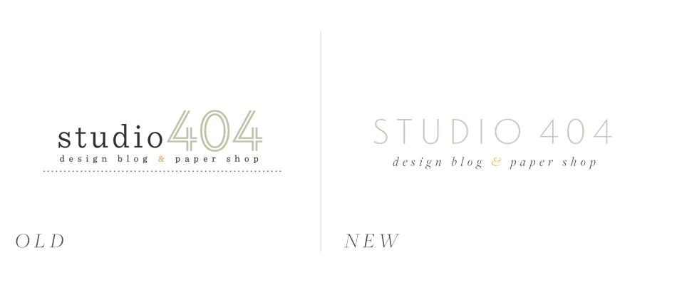 Studio 404 Logo Redesign
