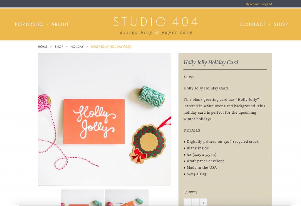 Studio 404 Paper Shop
