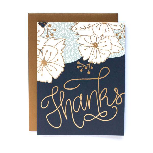 Thanks - 9th Letterpress