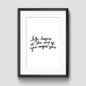 Comfort Zone Print - Studio 404 Paper