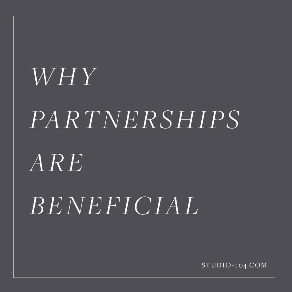 On Business Partnerships - Studio 404