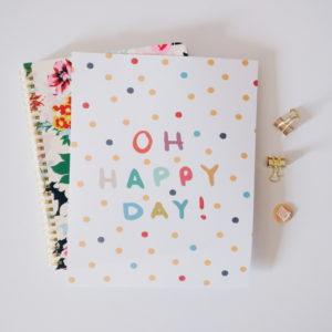 Oh Happy Day Print - Studio 404 Paper