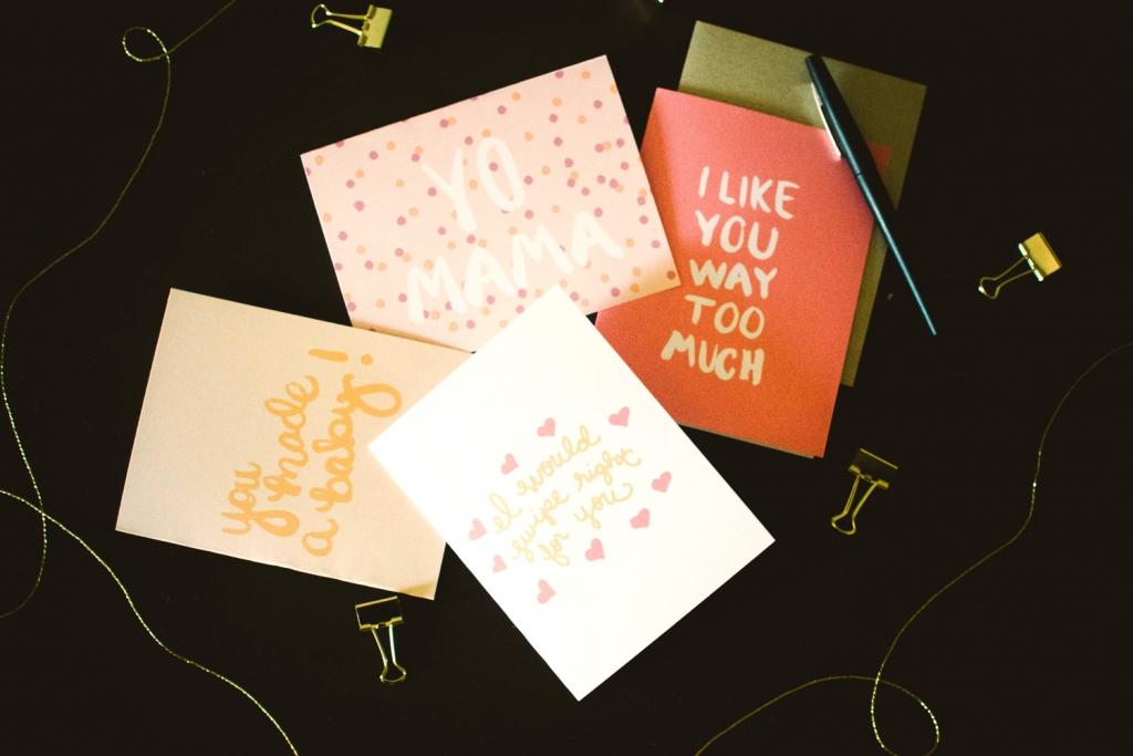 Studio 404 Paper Spring Line Cards