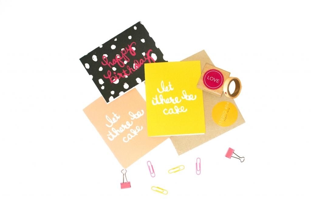 Happy Birthday Cards - Studio 404 Paper