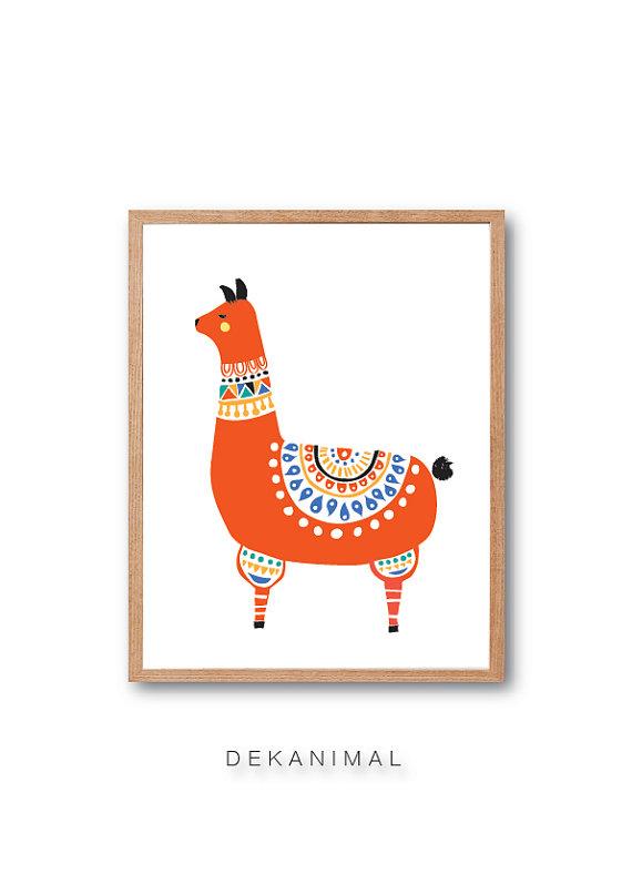 Llama - dekanimal