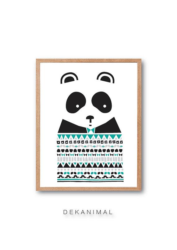 Panda Sweater - dekanimal