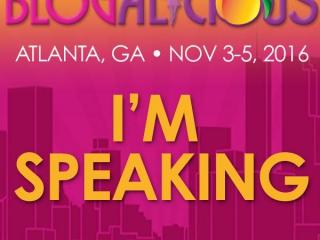 Blogalicious - I'm Speaking Badge - Studio 404