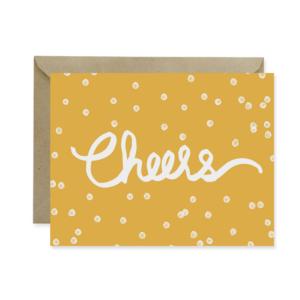 Cheers Yellow Card - Studio 404 Paper