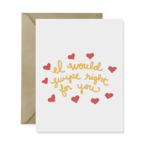 Swipe Right Love Card - Studio 404 Paper