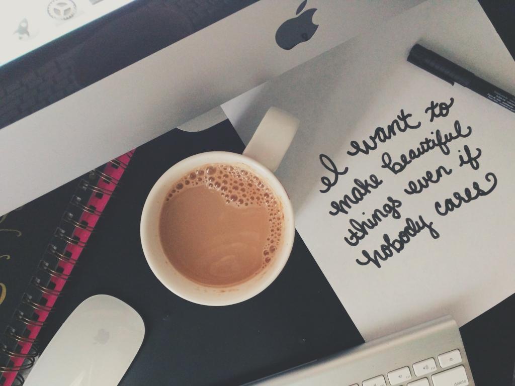 Make Beautiful Things Lettering - Studio 404