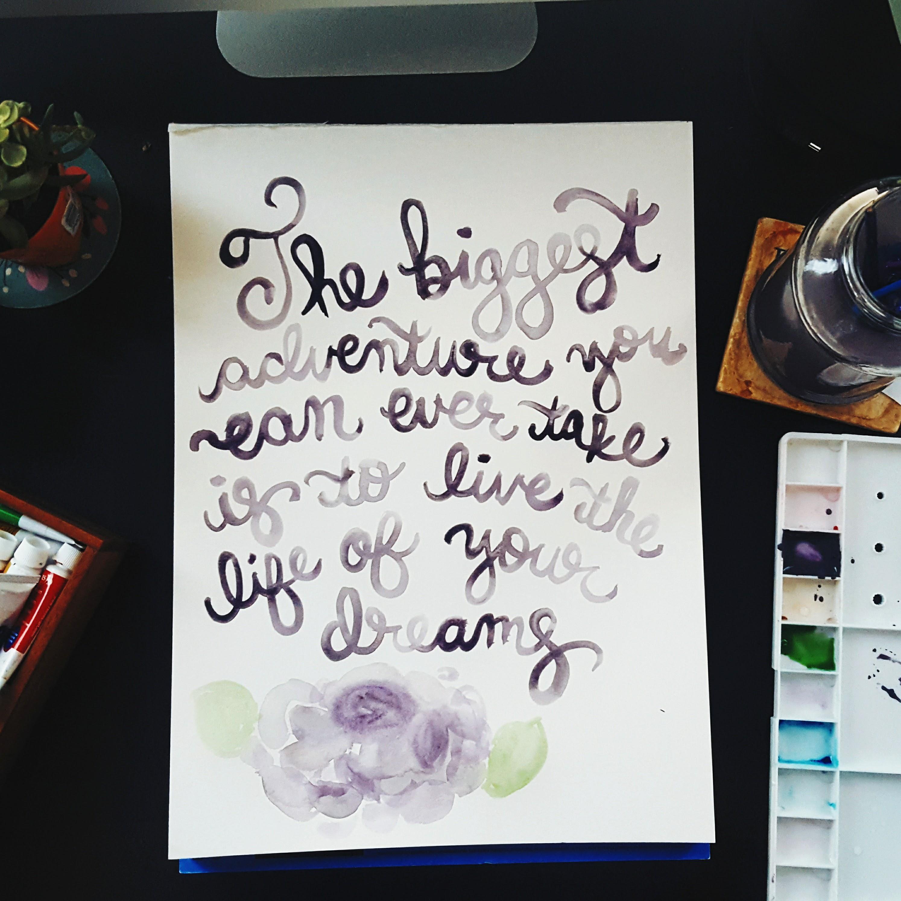 Life of Your Dreams Original Watercolor