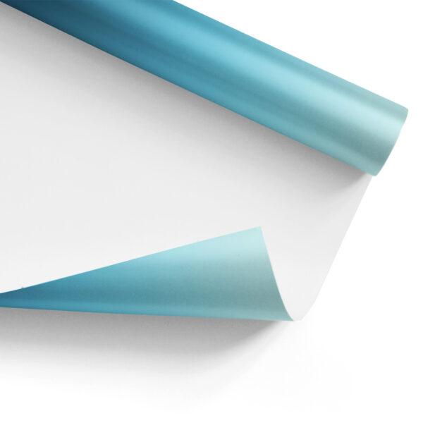 Winter Blue Gradient Gift Wrap