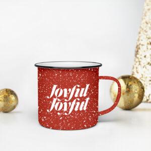 Joyful Joyful Speckle Mug